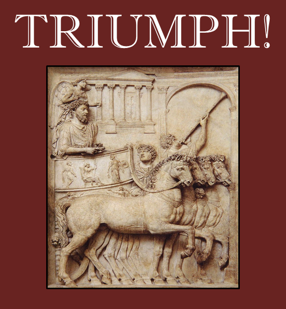 Logo for the Triumph miniature wargaming rules